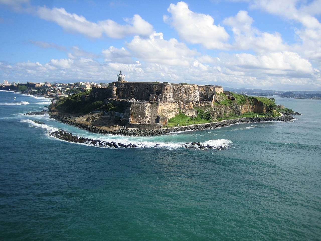 View of Punta Del Morro in Puerto Rico